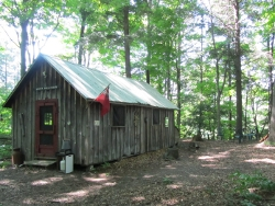 cabin in lower bush
