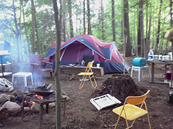 photo of camp site